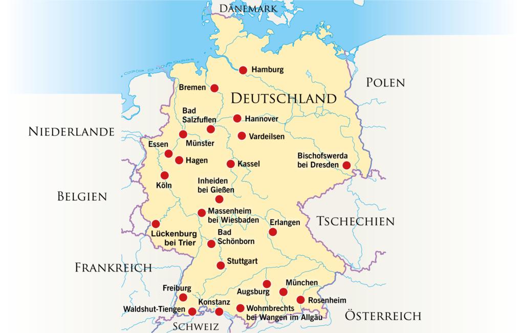 Erlangen Karte Deutschland.Gralsbewegung In Deutschland Gralsbewegung Net